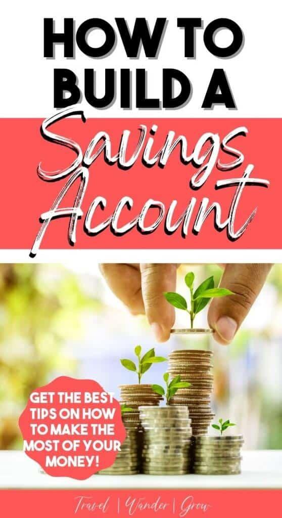How to build a savings account. Savings account tips. Saving accounts tips personal finance. Staring a savings account tips. Best personal finance tips. Saving accounts tips ideas.