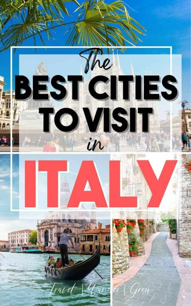 Italy is full of beautiful sites and plenty of things to do. If you are still deciding where to go on a visit to Italy, check out list list of the 7 best places to visit in Italy! This includes bucket list activities like the amalfi coast, pompeii, and more! Get Italy travel tips. Southern Italy destinations. Italy travel destinations bucket list. Europe travel destinations Italy. Best international travel guides.