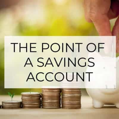 What's the Point of a Savings Account?